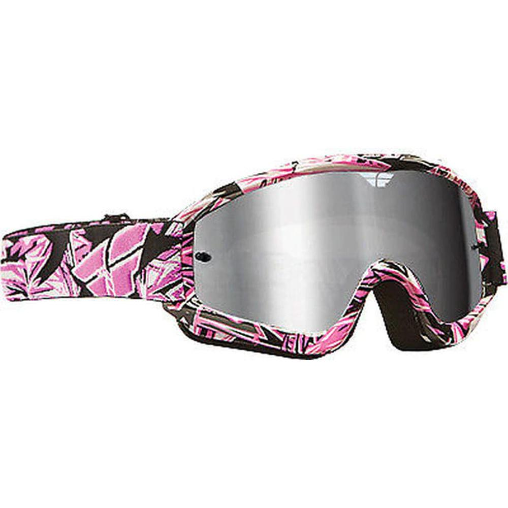 Zone Pro Goggle Offroad Goggle Fly Racing OS PINK ADULT