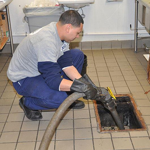 Interior grease trap services