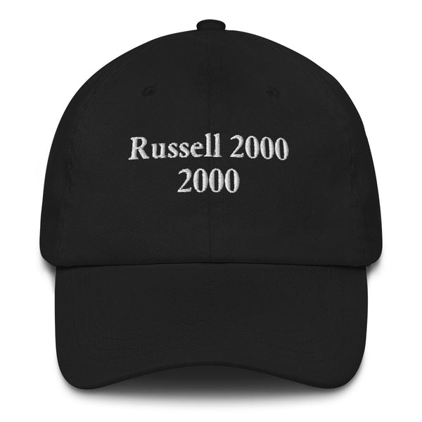 Russell 2000 2000 Dad Hat