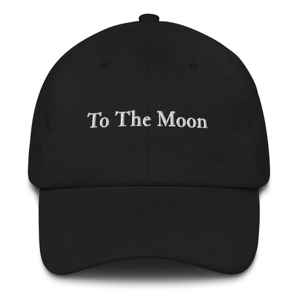 To The Moon Dad Hat