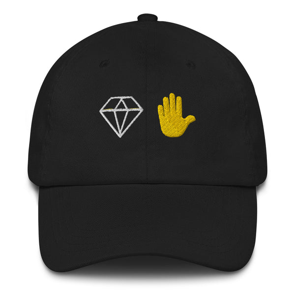 Diamond Hands Dad Hat