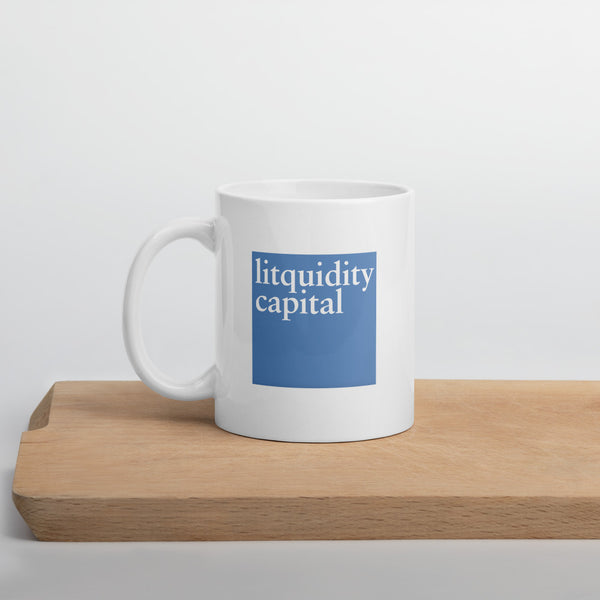 Litquidity Capital Blue Logo Mug