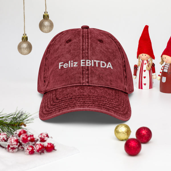 Feliz EBITDA - Christmas Dad Hat