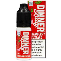 Strawberry Custard 10ml Eliquid By Dinner Lady