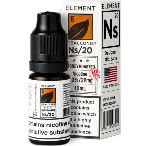 Element NS20+NS10 10ml Honey Roast Tobacco Eliquid