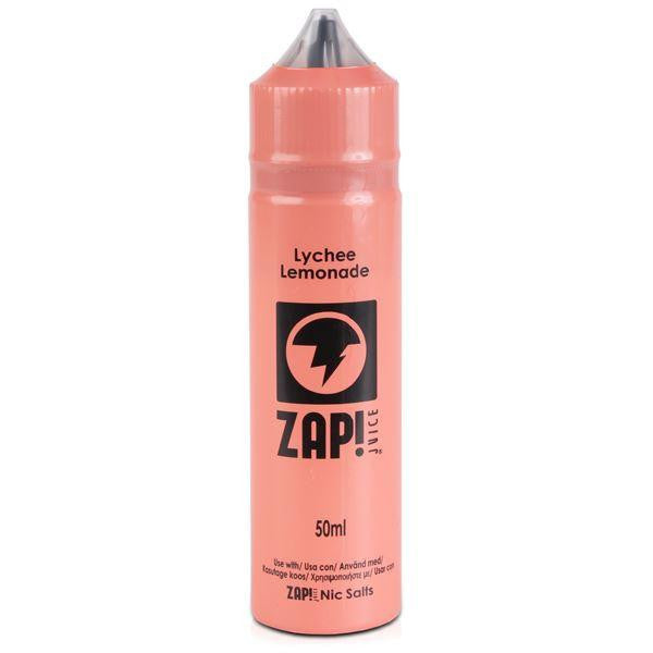 Zap Juice 50ml Lychee Lemonade 0mg Eliquid
