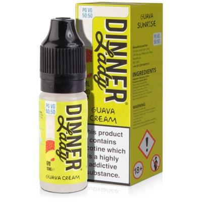 Guava Cream 10ml Eliquid By Dinner Lady
