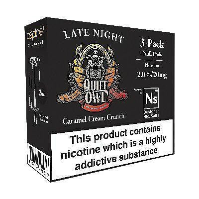 NS20 & NS10 Late Night 6ml(3x2ml)  Pod