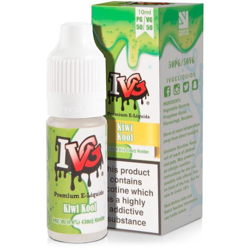 Kiwi Lemon Kool 10ml Eliquid By I VG Salt