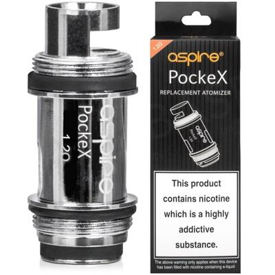 Pockex Replacement Vape Coils By Aspire
