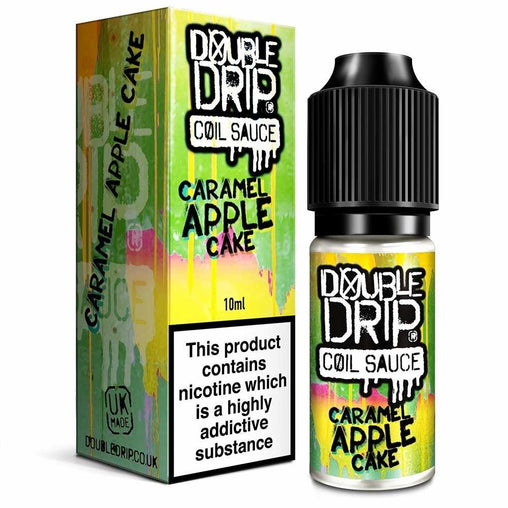 Caramel Apple Cake Eliquid By Double Drip Coil