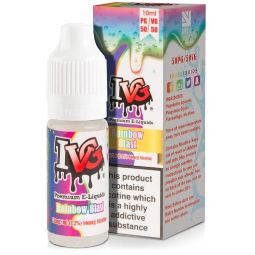 Rainbow Blast 10ml Eliquid By I VG Salt