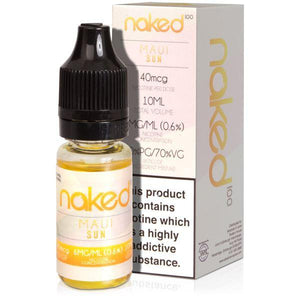 Naked 10ml Maui Sun Eliquid