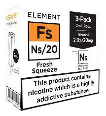 NS20 & NS10 Fresh Squeeze 6ml(3x2ml)  Pod