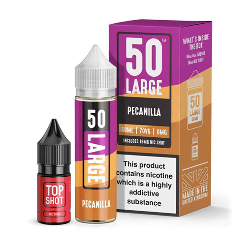 Pecanilla 50ml Eliquid By 50 Large Juice