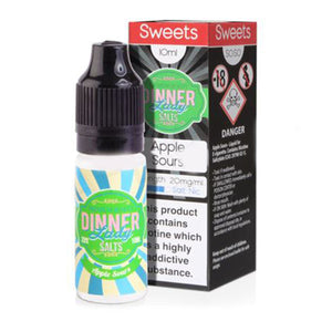 Apple Sours Nicotine E-Liquid by Dinner Lady Salt