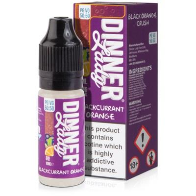 Blackcurrant Orange 10ml Eliquid By Dinner Lady