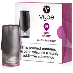 Vype Pod Dark Cherry Hardware