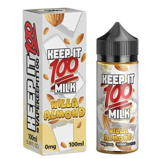 Nilla Almond Milk 80ml Eliquid By Keep It 100