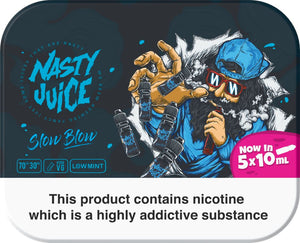 Slow Blow Eliquid By Nasty