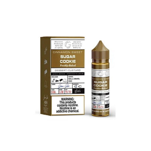 Sugar Cookie 50ml Eliquid Glas Basix Series