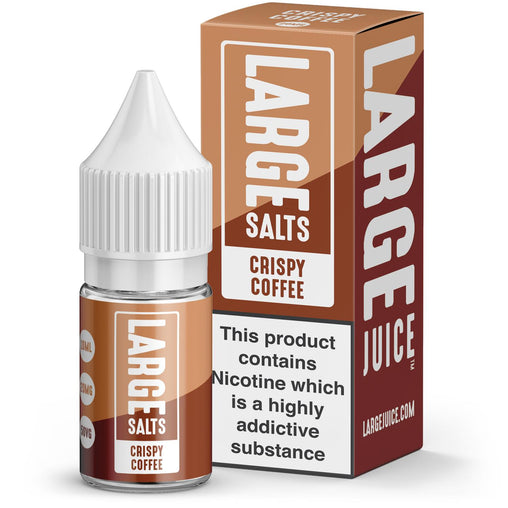 Crispy Coffee 10ml e-liquid By Large