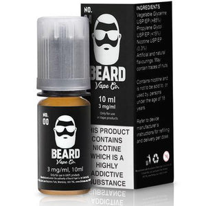 Beard 10ml No.00 Eliquid