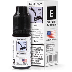 Zene Liquid 10ml Eliquid By Element