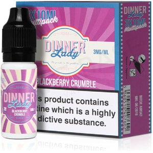 Black Berry Eliquid By Dinner Lady