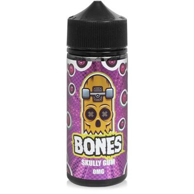 Skully Gum 100ml Eliquid Wick Liquor Bones