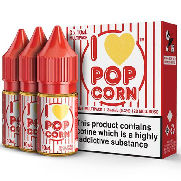 I Love PopCorn Eliquid By Mad Hatter