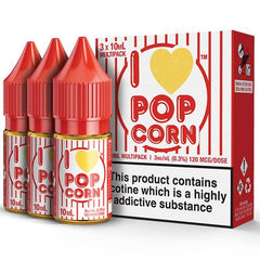 I Love Pop Corn 30ml Eliquid By Mad Hatter
