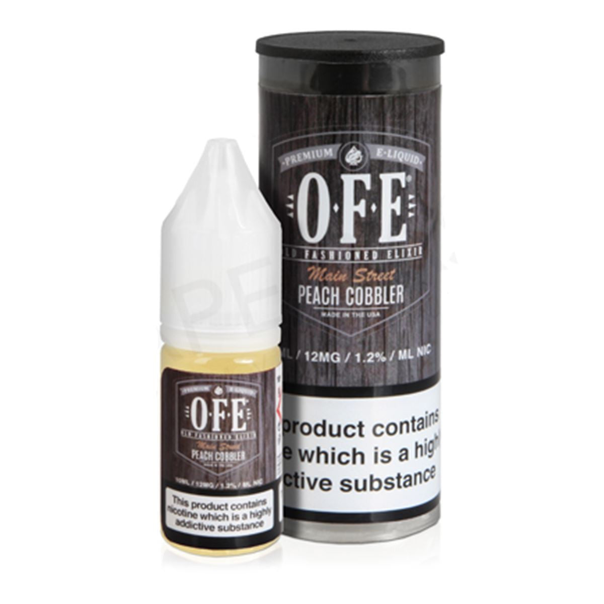 Peach Cobbler Eliquid By OFE