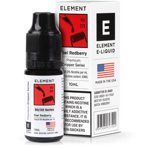 Element 10ml Kiwi Redberry Eliquid