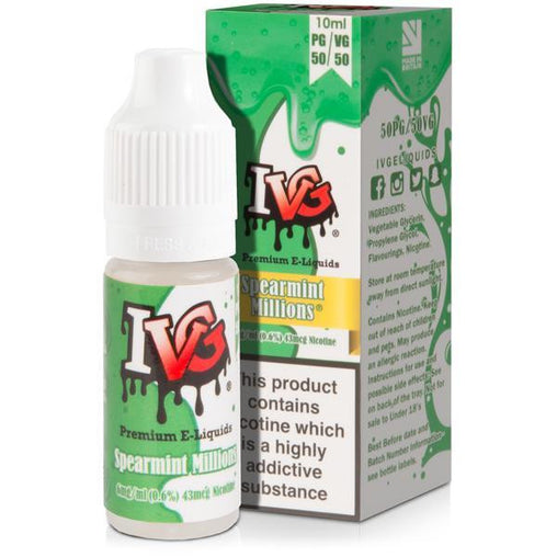 Spearmint Millions Eliquid By I VG