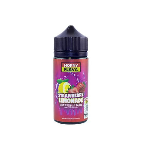 Strawberry 100ml Eliquid Horny Flava Lemonade Series