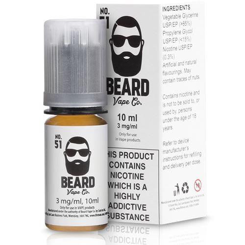 Beard 10ml No.51 Eliquid