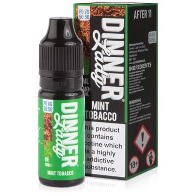 Mint Tobacco 10ml Eliquid By Dinner Lady