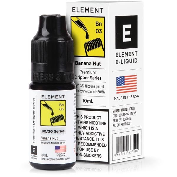 Element 10ml Banana Nut Dripper Eliquid