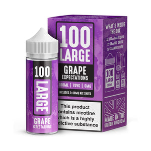 Grape Expectations Eliquid By Large Juice