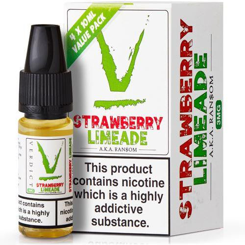 Strawberry Lemonade Eliquid By Verdict Vapors