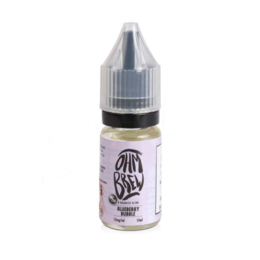 Blueberry BubbleGum 10ml Eliquid By Ohm Brew