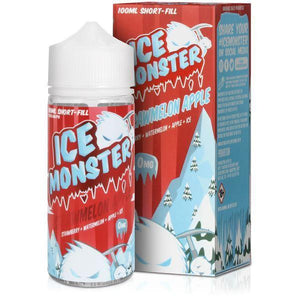 Strawmelon Apple  Eliquid By ICE MONSTER