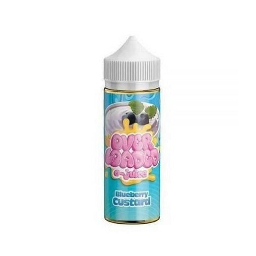 Blueberry Custard 120ml Eliquid Overloaded E-Juice by Ruthless