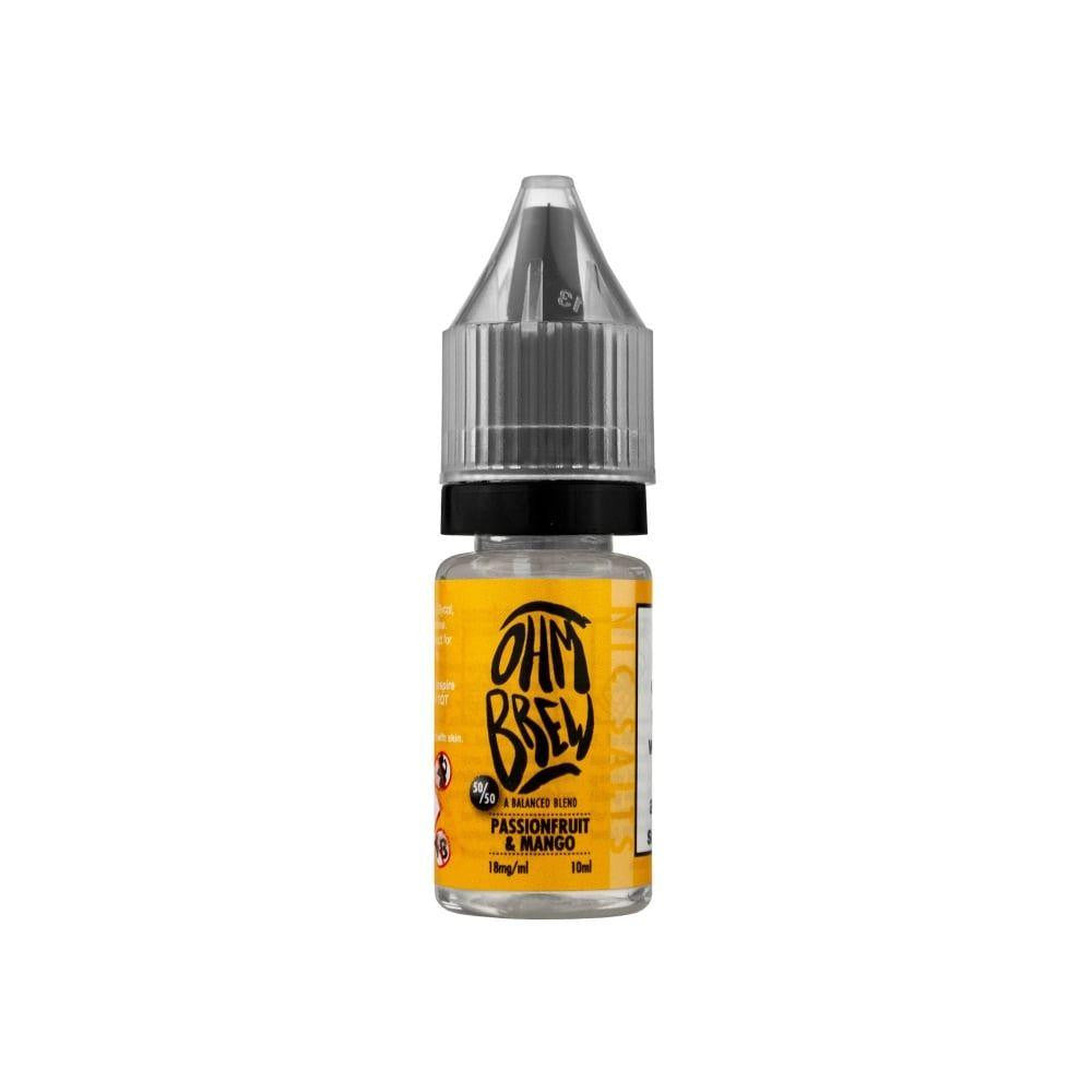 Ohm Brew 10ml Passion fruit and Mango Eliquid