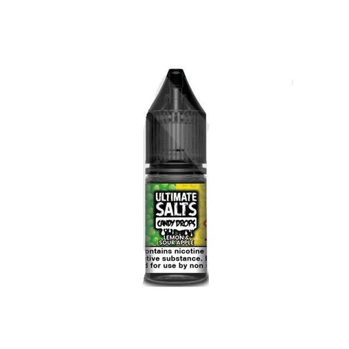 Lemon & Sour Apple 10ml E-Liquid By Ultimate Juice