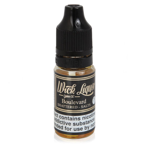 Boulevard Shattered 10ml Eliquid By Wick Liqour Salt