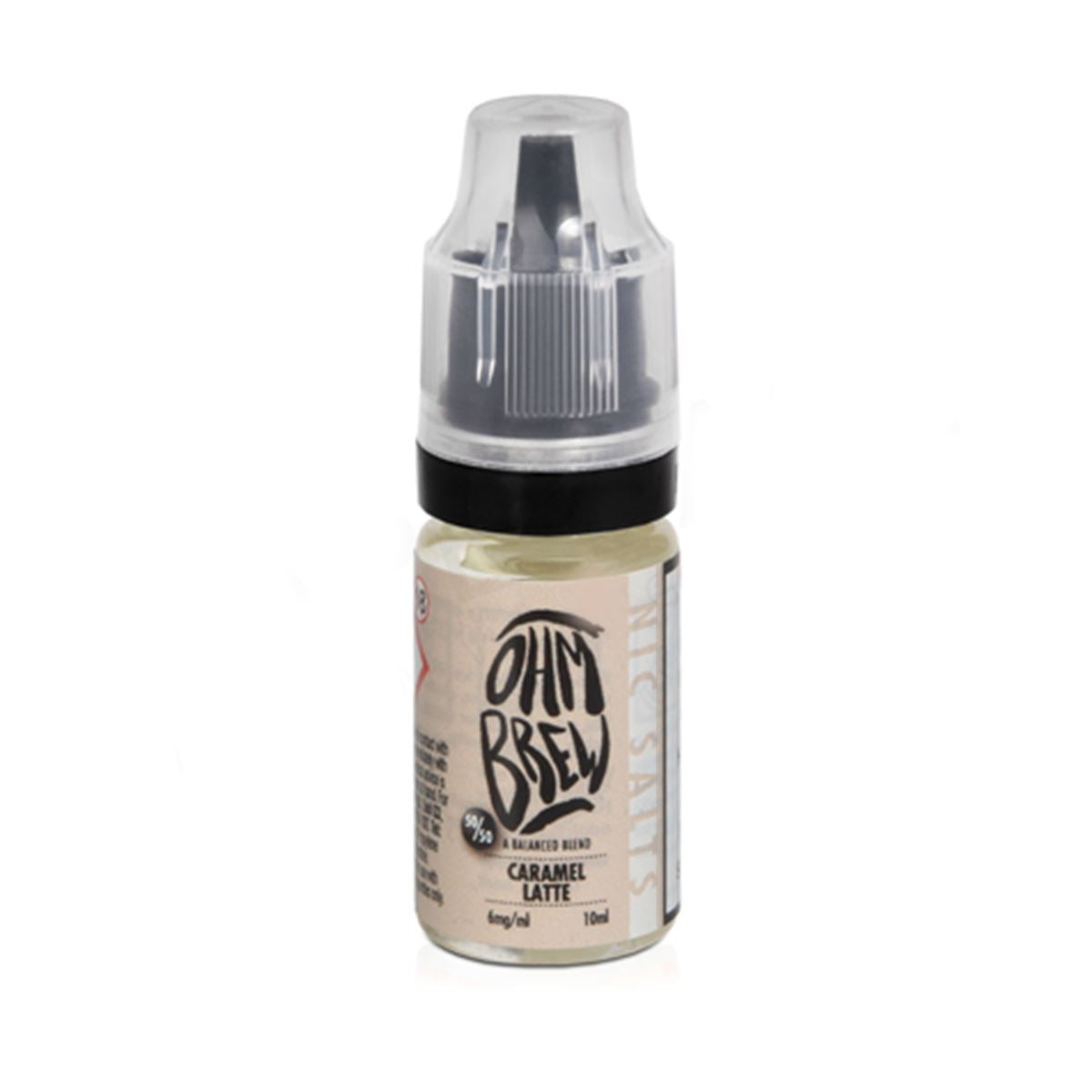 Caramel Latte 10ml Eliquid By Ohm Brew