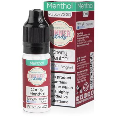 Cherry Menthol 10ml Eliquid By Dinner Lady