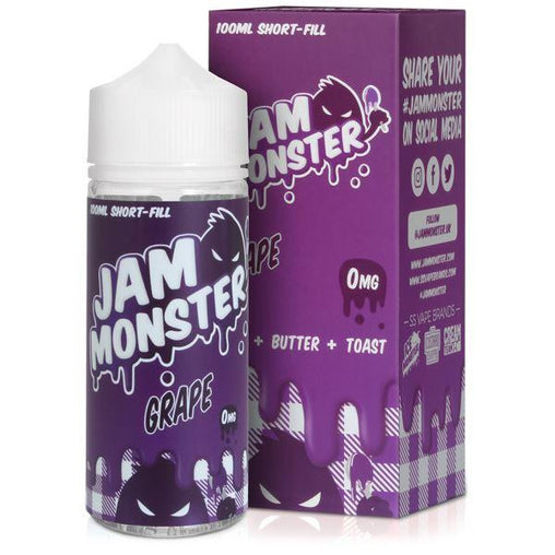 Grape  Eliquid By JAM MONSTER